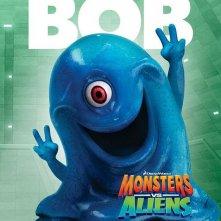Character Poster per Mostri contro Alieni - Bob