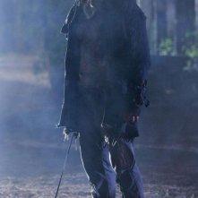 Derek Mears in una scena del film Venerdì 13
