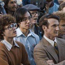 Emile Hirsch e Sean Penn in una scena del film Milk