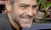 George Clooney sul set di E.R.