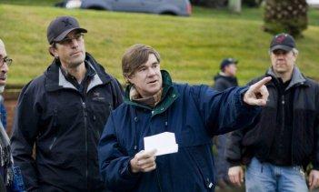 Il regista Gus Van Sant sul set di Milk