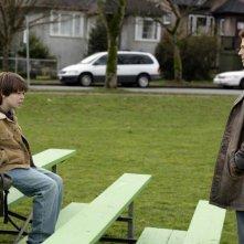 Brock Kelly e Colin Ford in un momento dell'episodio Afterschool Special di Supernatural