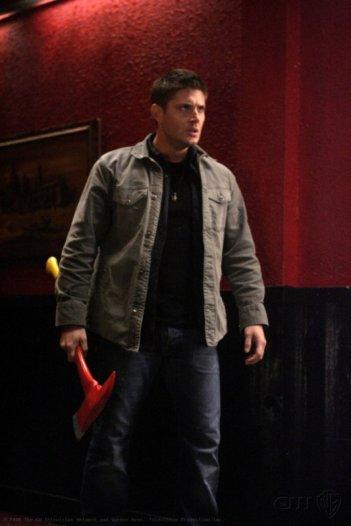 Jensen Ackles in una scena dell'episodio Sex and Violence di Supernatural
