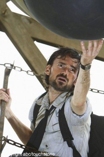 Jeremy Davies in una scena dell'episodio Jughead di Lost