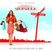 Un wallpaper del film I Love Shopping con Isla Fisher