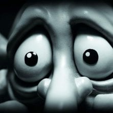 Ancora un'immagine di Max, uno dei protagonisti del film d'animazione australiano Mary and Max