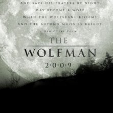 Teaser poster di The Wolf Man