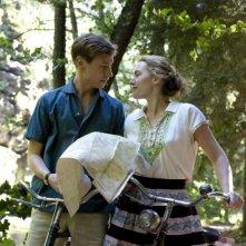 David Kross e Kate Winslet in una sequenza del film The Reader
