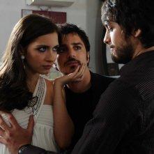 Giulia Steigerwalt e Nicolas Vaporidis in un'immagine del film Iago