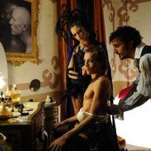 Giulia Steigerwalt, Lorenzo Gleijeses e Nicolas Vaporidis in un'immagine del film Iago