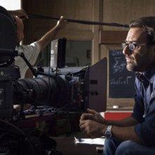 Il regista Riccardo Donna sul set di Questo piccolo grande amore