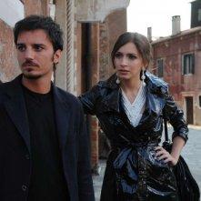 Nicolas Vaporidis e Giulia Steigerwalt in una scena del film Iago