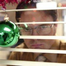 Rainn Wilson in una scena dell'episodio Moroccan Christmas di The Office