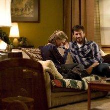 Renée Zellweger e Harry Connick in una scena del film New in Town
