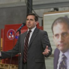 Steve Carell in una scena dell'episodio Stress Relief di The Office
