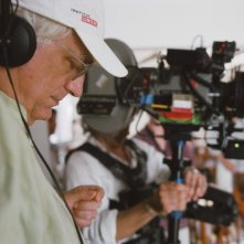 Bertrand Tavernier sul set del film In the Electric Mist in concorso a Berlino 2009