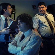 Carlos Lissardy, Esteban Lago e Horacio Camandule  in una scena del film Gigante, in concorso a Berlino 2009