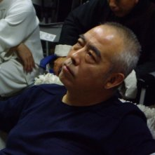 Chen Kaige sul set del film Forever Enthralled (Mei Lanfang) in cartellone a Berlino 2009