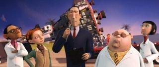 Un'immagine tratta dal film Space Chimps