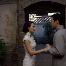 Zhang Ziyi con Leon Lai nel film film Forever Enthralled (Mei Lanfang) in cartellone a Berlino 2009