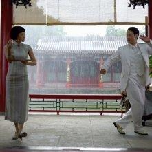 Zhang Ziyi e Leon Lai nel film film Forever Enthralled (Mei Lanfang)