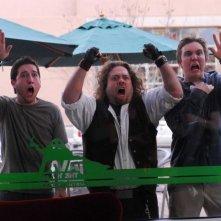 Chris Marquette, Dan Fogler e Sam Huntington in una scena del film Fanboys