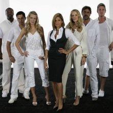 Eva Mendes e gli altri protagonisti di 'Live! - Ascolti record al primo colpo' in una foto promozionale del film