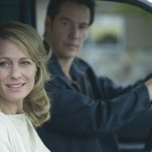 Keanu Reeves e Robin Wright Penn in una scena di The Private Lives of Pippa Lee