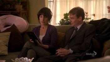 Lisa Edelstein e Robert Sean Leonard in una scena dell'episodio Big Baby di Dr. House: Medical Division