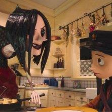 Un'immagine del film in stop-motion Coraline e la porta magica