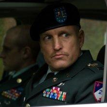 Woody Harrelson in una scena del film The Messenger