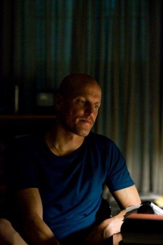 Woody Harrelson in una sequenza del film The Messenger