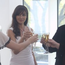 Alan Arkin e Monica Bellucci in una scena di The Private Lives of Pippa Lee