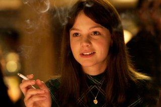 Carey Mulligan in una scena del film An Education