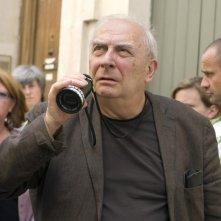 Claude Chabrol sul set di Bellamy (2008) presentato al Festival di Berlino 2009 nella sezione Berlinale Special