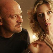 Claudio Bisio e Giorgia Wurth in un'immagine del film Ex