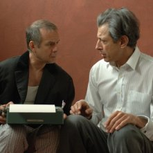 Jeff Goldblum e Joachim Krol in una scena di Adam Resurrected