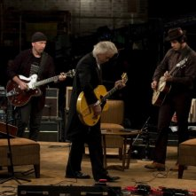 The Edge, Jimmy Page e Jack White nel film It Might Get Loud, in cartellone nella sezione Berlinale Special 2009