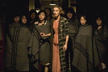 Anne Consigny in una sequenza del film John Rabe