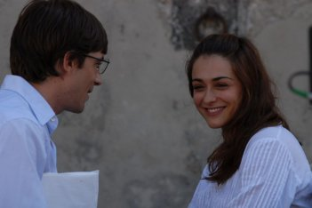 Libero De Rienzo e Valentina Lodovini in una scena del film Fortapàsc