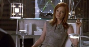 Shirley Manson in una scena dell'episodio Desert Cantos di The Sarah Connor Chronicles