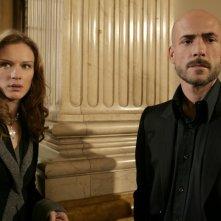 Antonia Liskova e Gianmarco Tognazzi in una scena dell'episodio Ossessione de Il bene e il male