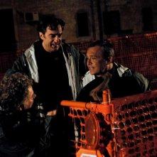 Claudio Amendola, Max Tortora e Antonello Fassari (di spalle) in una scena de I Cesaroni 3