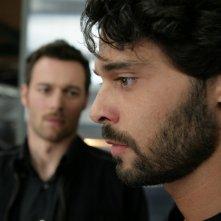 Luca Seta e Giorgio Marchesi in una scena dell'episodio Ossessione de Il bene e il male