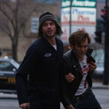 Timothy Olyphant e Rossif Sutherland nel film High Life