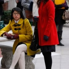 Leighton Meester e Yin Chang nell'episodio Carrnal Knowledge di Gossip Girl