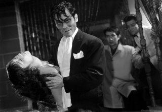 Una scena del film The Lady Vampire