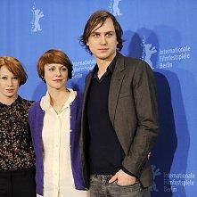 Berlinale 2009 - cast e regista di Alle Anderen: Birgit Minichmayr, Lars Eidinger,