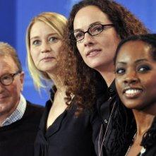 Finn Nielsen, Trine Dyrholm, Annette K.Olesen e Lorna Brown presentano Der Knochenmann a Berlino (2009)