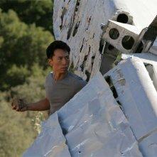 James Kyson Lee in una scena di Trust and Blood della terza stagione di Heroes